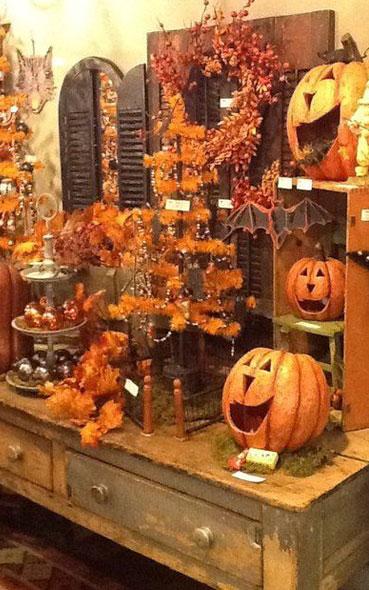 Decoration Halloween Magasin.Vitrines De Magasin Pour Halloween 11 Enseigne De Magasin